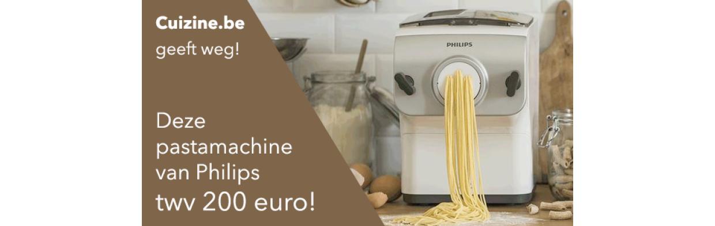 Win een pastamachine!