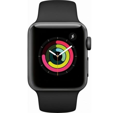 Watch Series 3 - 38mm Spacegrijs Aluminium/Grijze Sportband Apple