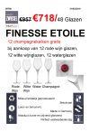 Schott Zwiesel Finesse Etoile 48pcs