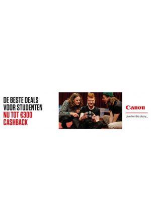 Canon: Studenten cashback 2019