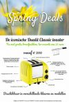 Dualit: Classic Spring Deals