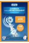 Oral-B Cashback tot 60 euro