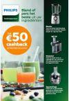 Philips: Kitchen HealthyDrinks cashback