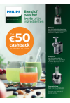 Philips: Kitchen HealthyDrinks cashback
