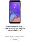 Samsung Galaxy 7 - JBL Flip 3